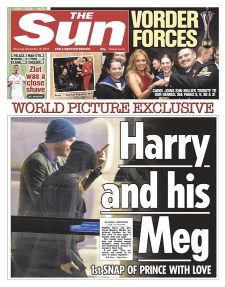 El primer paseo que vemos del Príncipe Harry y Meghan Markle
