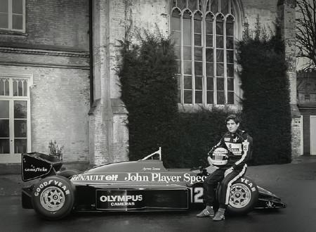 Primera Victoria Ayrton Senna 3