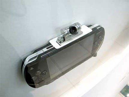 Especificaciones de la cámara de la PSP