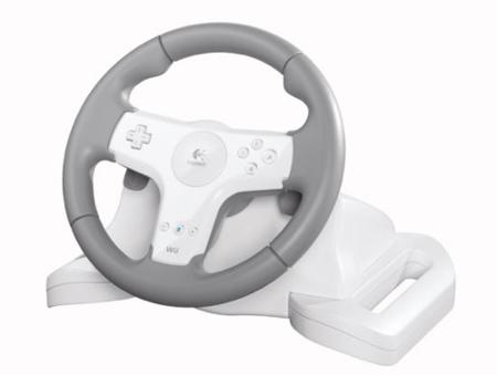 Logitech Speed Force Wireless, volante para Wii