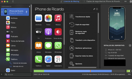 Iphone Imazing