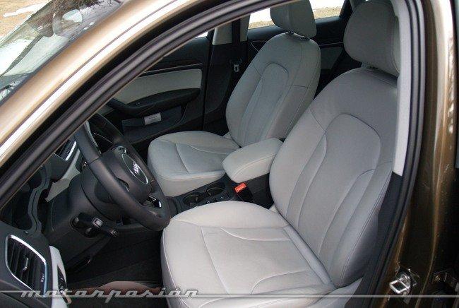 Audi Q3 quattro prueba interior 03