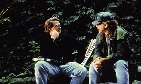 David Koepp y Steven Spielberg