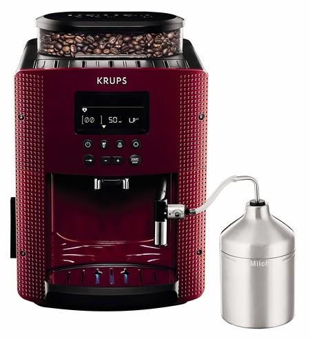 Oferta en la cafetera Krups Compact Cappucino EA816570: está rebajada a 307,71 euros en Amazon