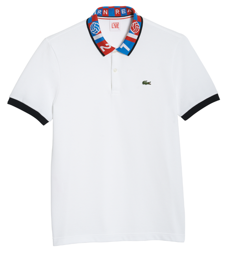 lacoste by sanghon kim polo blanco