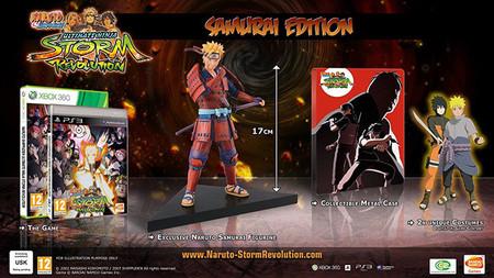 Naruto Shippuden: Ultimate Ninja Storm Revolution anuncia sus ediciones Samurái