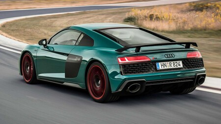 Audi R8 Green Hell Edition Rear
