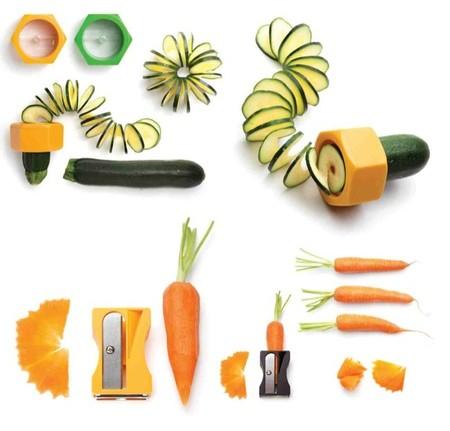 Accesorios de cocina para animar a comer verdura en casa y otros diseños atractivos