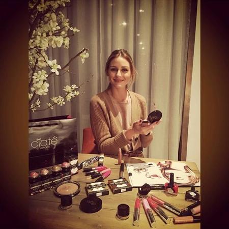 Olivia Palermo también colaborará con Ciaté