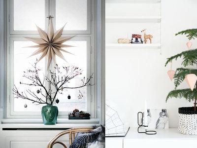 17 ideas para decorar con estilo moderno y minimalista esta Navidad