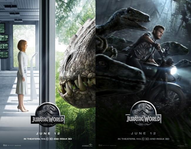 Otros carteles de Jurassic World