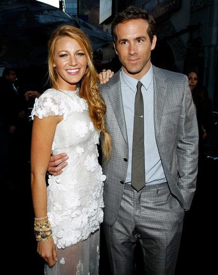 ¿Queréis fotos de la boda de Blake Lively y Ryan Reynolds? Pues conformaos con esto