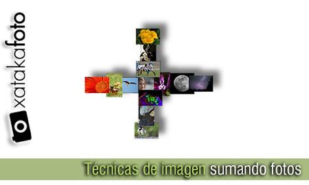 Técnicas de imagen sumando fotos