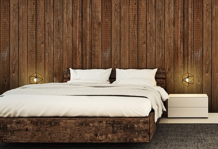 Wood Effect Wall Mural
