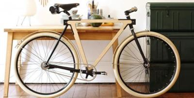 Sandwichbike, la bici de madera que montas tú mismo