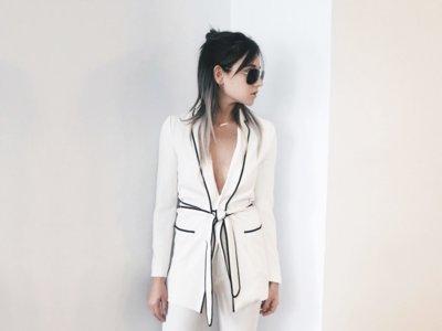 Duelo de Zaras: Olivia Palermo encuentra a una rival blogger luciendo su look pijama ¿quién ganará?