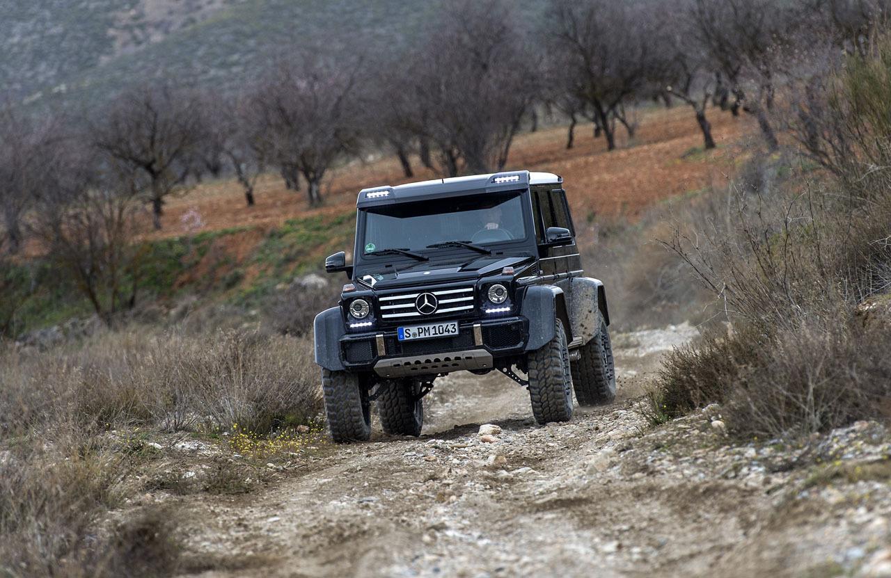 Foto de Mercedes-Benz G 500 4x4², toma de contacto (55/127)