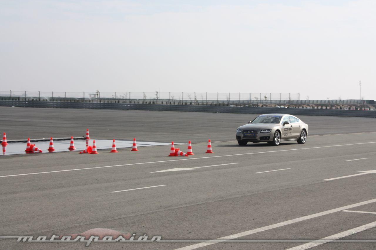 Foto de Goodyear Eagle F1: Audi TT RS, Audi A7 y Mercedes CLS (24/79)