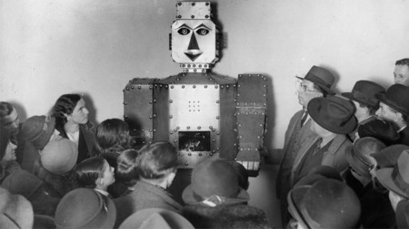 Robot antiguo