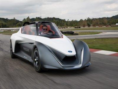 Nissan BladeGlider demostró de lo que es capaz un auto eléctrico, en el Goodwood Festival of Speed