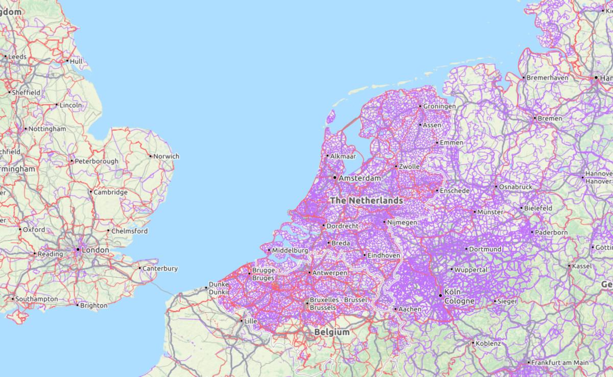 Mapa Carrils Bici Barcelona.Todos Los Carriles Bicis Del Planeta Cartografiados En Este