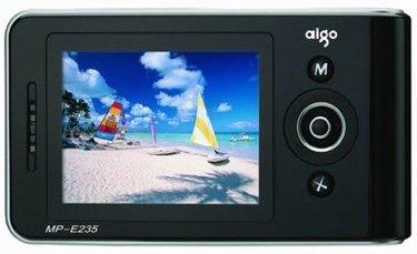 Aigo E235, con soporte para ficheros VOB