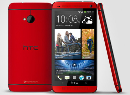 HTC desvela el HTC One rojo, en exclusiva para Reino Unido