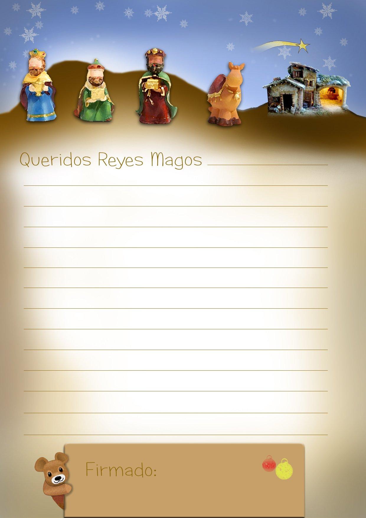 Cartas para los Reyes Magos exclusivas de Bebs y ms Navidad11
