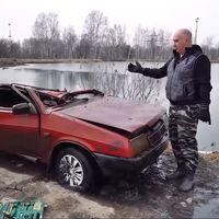 Hay coches rusos que arrancan después de seis meses bajo el agua, y Vlad te lo demuestra en este vídeo