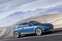 Audi allroad shooting brake, un híbrido enchufado en Detroit