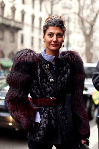 Las street stylers en la Semana de la Moda de Milán para hombres