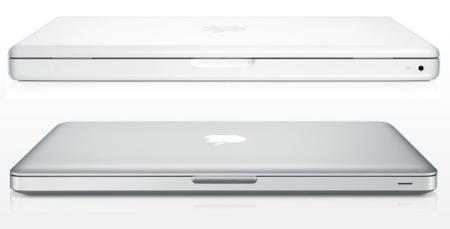 Comparando el nuevo MacBook blanco con el MacBook unibody