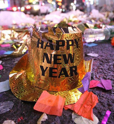 Cómo festejaron los famosos el fin de año