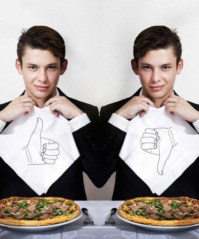 Servilletas LikeDislike: ¿te gusta lo que comes?