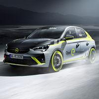 Opel Corsa-e Rally: un coche eléctrico de rallies que tendrá su propia copa monomarca en 2020