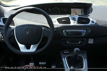 Renault Scénic XMOD, vista interior