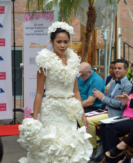 This Dress By Roy Cruz Was Voted The Fan Favorite From Online Votes