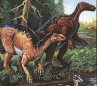 """Algunos dinosaurios en crisis antes de la """"famosa colisión"""""""