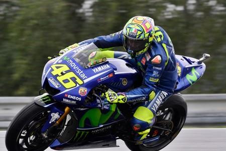 Valentino Rossi Motogp Gp Republica Checa 2017