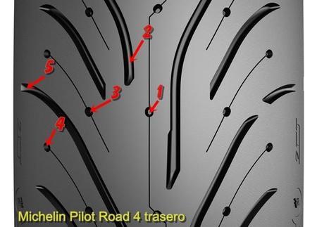 Michelin Pilot Road 4 Trasero