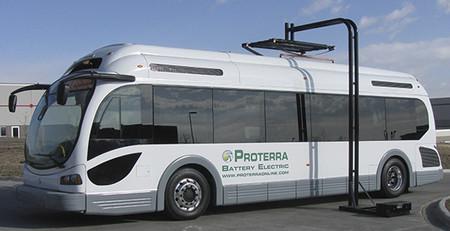 Proterra EcoRide: el futuro del autobús eléctrico en acción