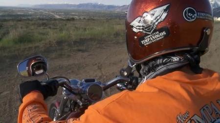 La Harley-Davidson voladora