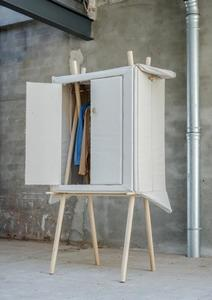 Un armario pop-up que podrás llevar con tu ropa a todas partes
