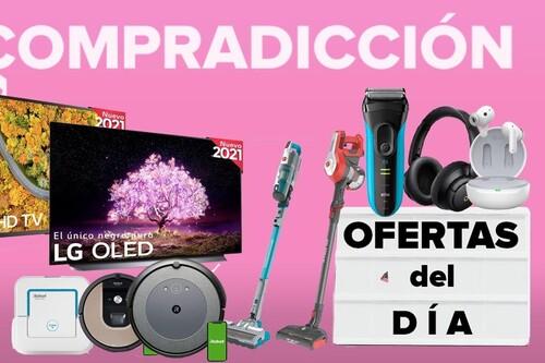 Ofertas del día y chollos en Amazon: auriculares Soundcore, robots de limpieza Roomba, aspiradoras Hoover o cuidado personal Braun a precios rebajados