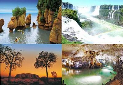 Se conocieron los 28 finalistas de las 7 Maravillas Naturales