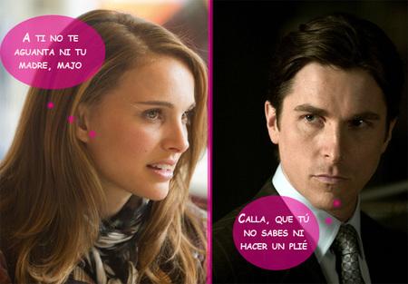 Natalie Portman, mucha hembra para que Christian Bale la chulee