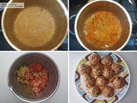 Albondigas De Pollo Con Salsa Jitomate 1