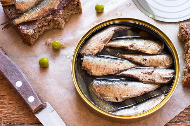 Precocinados saludables. Sardinillas