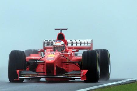 Schumacher Silverstone F1 1998