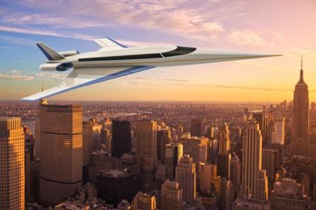 El futuro era esto: Volar de Nueva York a Londres en tres horas y en un avión panorámico